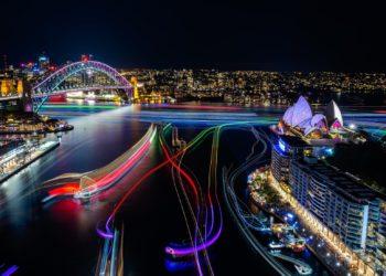 Vivid Destination NSW Circular Quay The Rocks Sydney The Push Bar