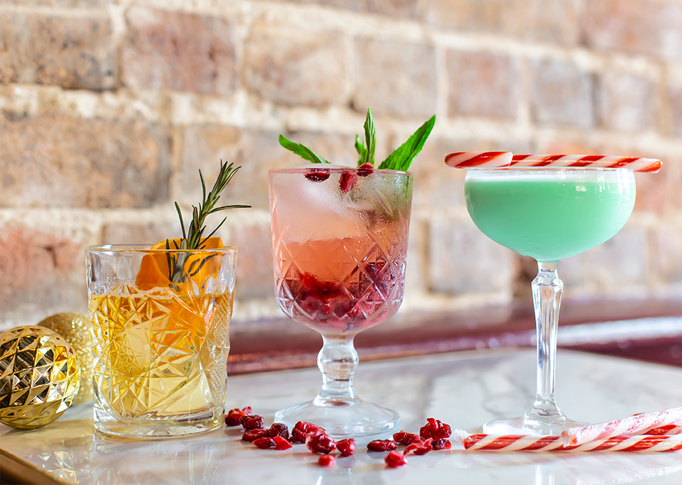 Christmas Cocktail Specials at The Push Cocktail Bar