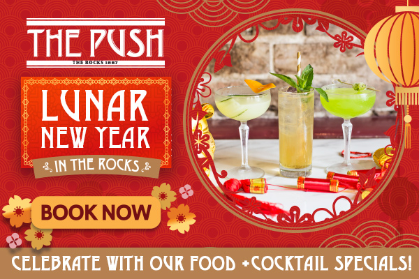 Lunar New Year Food and Cocktail Specials at The Push