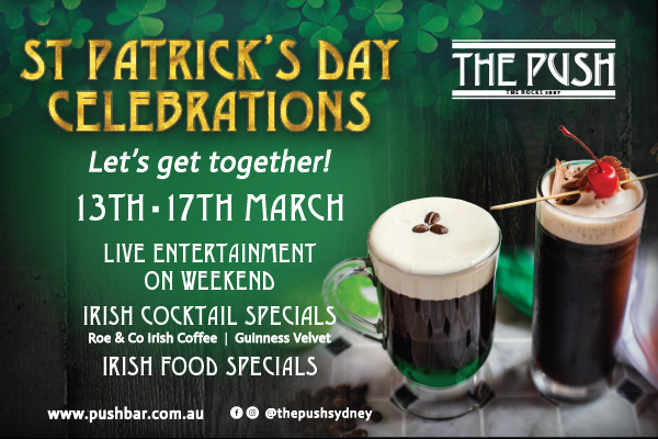 St. Patrick's Day Celebrations at The Push